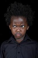 Portrait of African-American boy
