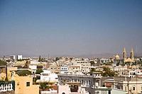Aerial View of Mazatlan from Cerra de la Cruz Hill Sinaloa State Mexico