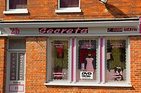 The Secrets sex shop for adults in Bury Saint Edmunds , Suffolk , England , Great Britain , UK