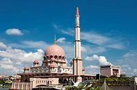 Malaysia, Putrajaya, Pink Mosque