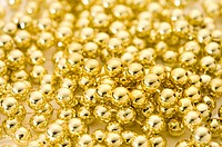 Decoration, Golden Beads