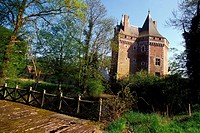 OUCHE REGION, LA BARRE EN OUCHE, THE CASTLE OF THEVRAY, EURE 27, NORMANDY, FRANCE