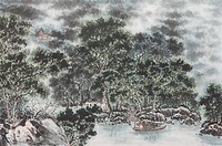 Chinese Fine art, Traditional Chinese Painting, Woods