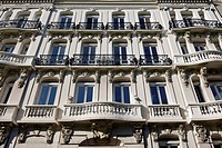 FACADE OF THE MAISON OUDINET BUILDING, BOULEVARD DE STRASBOURG, LE HAVRE, SEINE_MARITIME 76, NORMANDY, FRANCE