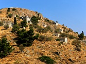 Paleochora Aegina Greece Medieval Town On A Hill Locals Took Refuge From Pirate Invasions For More Than 10 Centuries The Town Had A Fortress On Top Of...
