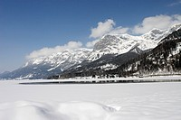 Lake Grundlsee in Winter, Styria, Austria