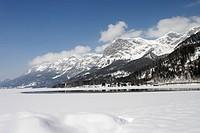 Lake Grundlsee in Winter, Styria, Austria