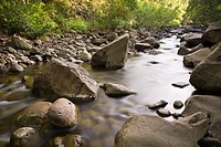 Creek at Kepaniwai County Park, Iao Valley, Maui, Hawaii, USA