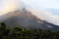 Active Volcano Arenal, Central America, Costa Rica