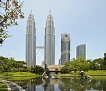 Architecture, Asia, destination, outdoor, building, tourism, building, construction, blocks of flats, high_rise buildings, houses, homes, KLCC, Kuala,...