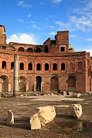 The Forum and The Trajan's Markets, Rome, Italy, Europe