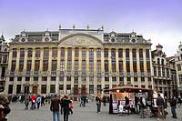 Maison des Ducs de Brabant in the Grande-Place Grote Markt, Brussels, Belgium