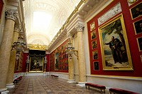 Russia, St Petersburg, the state ermitage museum