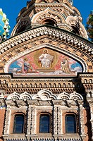 Russia, St Petersburg, the church of ressurection
