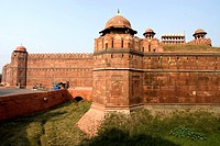 India, New Delhi, red fort