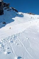 Switzerland, canton of Valais, Ayent, ski station of Anzere.
