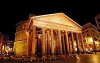 Pantheon, Rome, Piazza della Rotonda, Italy