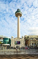 St John's beacon radio tower,Liverpool,Merseyside,England