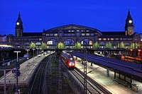 Hamburg Central Station, Germany