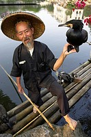 Cormorant Fisherman , Yangshuo , China