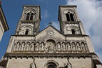 Europe, France, Poitou Charentes, Vienne, Chatellerault, Saint-Jacques church
