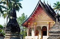 Wat Aham. Luang Prabang. Laos.
