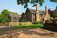 Oakwell Hall, Birstall, West Yorkshire, England, UK