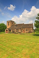 St Peter's Church, Hartshead, West Yorkshire, England, UK