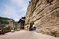 Entrance of Mianshan scenic area, Jiexiu, Shanxi Province, China