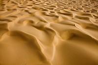 Sand dunes of Taklamakan Desert, Bayingolin Mongol Autonomous Prefecture, Xinjiang Uyghur Autonomous Region, China