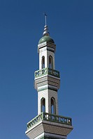Minaret of Exhibition Hall Of The Oldest Koran Manuscript, Xunhua Salar Autonomous County, Qinghai, China
