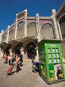 Central market, Valencia. Comunidad Valenciana, Spain.