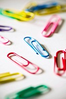 coloful clips