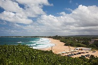 Puerto Rico, North Coast, Arecibo, Playa Morillos beach.