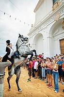 ´Jaleo´ typical festival. Sant Lluis. Menorca. Balearic Islands. Spain.