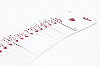 heart of poker cards