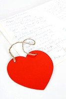 heart shape and letter