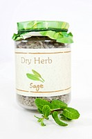 bottle of herb