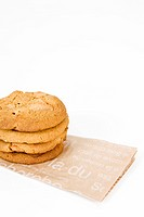 cookies on paper bag