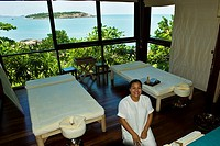 Spa treatment suite, Six Senses Spa, Six Senses Hideaway resort hotel, Koh Samui island, Gulf of Thailand, Thailand