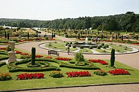 The restored Italianate Garden at Trentham Gardens, Stoke-on-Trent, Staffordshire, England