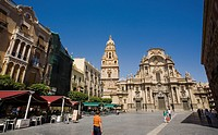 Cathedral of Santa Maria. Murcia. Spain.