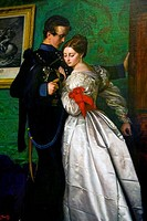 Black Brunswickers Detail by John Everett Millais, 1829_1896, England, Port Sunlight Village, Lady Lever Gallery, 1860