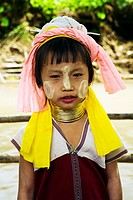 Karen or Long Neck people in North West Thailand