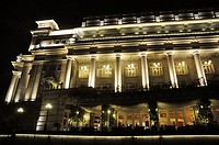 Singapore: the Fullerton Hotel