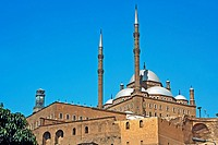 Muhammed Ali Mosque - Low Angle View Cairo, Egypt