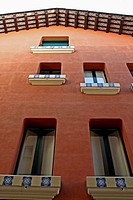 hause windows, Sant Feliu de Codines, Catalonia, Spain.