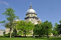 Illinois State Capitol Building Springfield Illinois