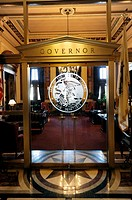 Governor's Office with State Seal Springfield Illinois