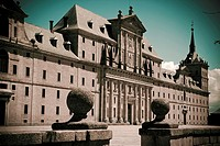San Lorenzo del Escorial Monastery  Madrid  Spain